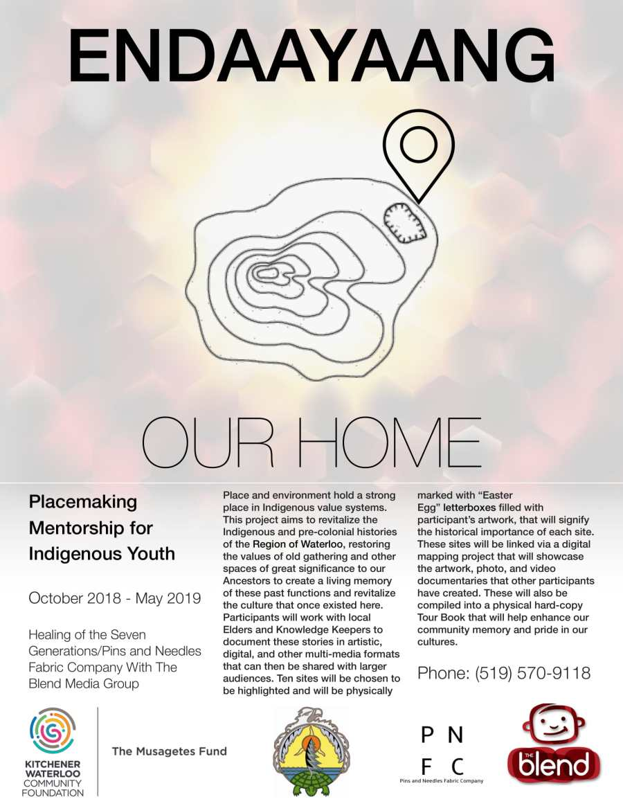Placemaking Mentorship for Indigenous Youth
