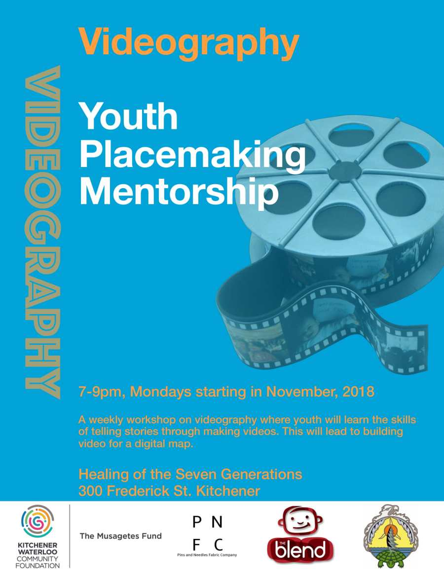 Youth Placemaking Mentorship: Videography Stream